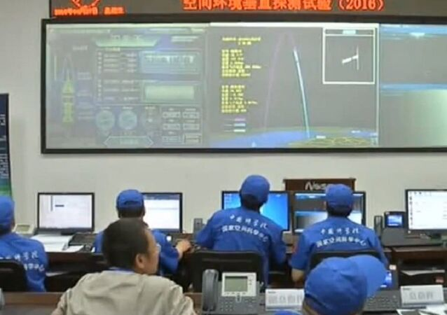 China has successfully launched the Kunpeng-1B sounding rocket from a launch pad in Danzhou City in the southern Chinese Hainan Province