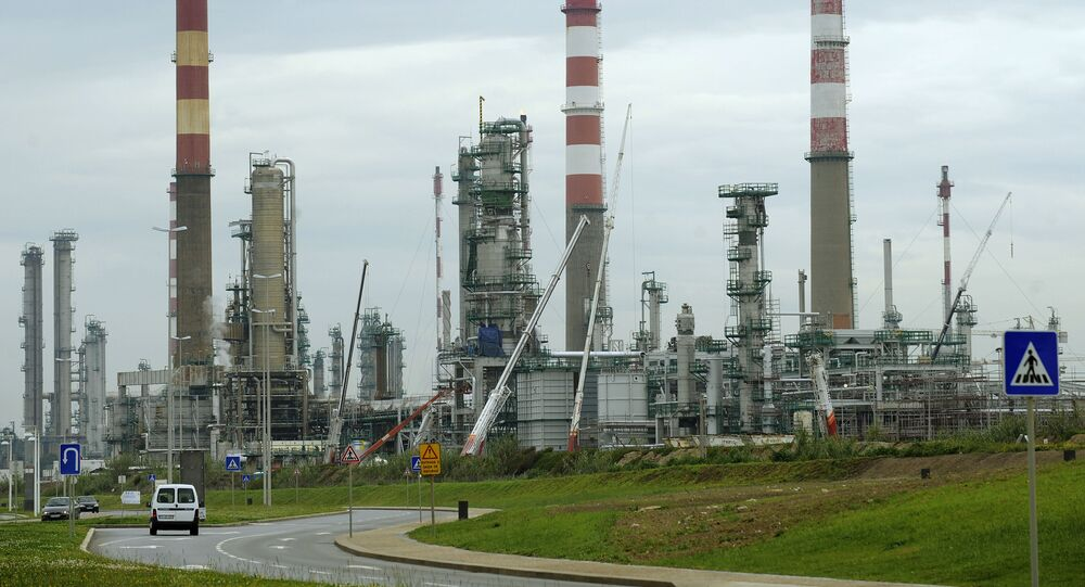 General view of Portuguese Galp Energia's refinery in Matosinhos, outskirts of Porto, Portugal