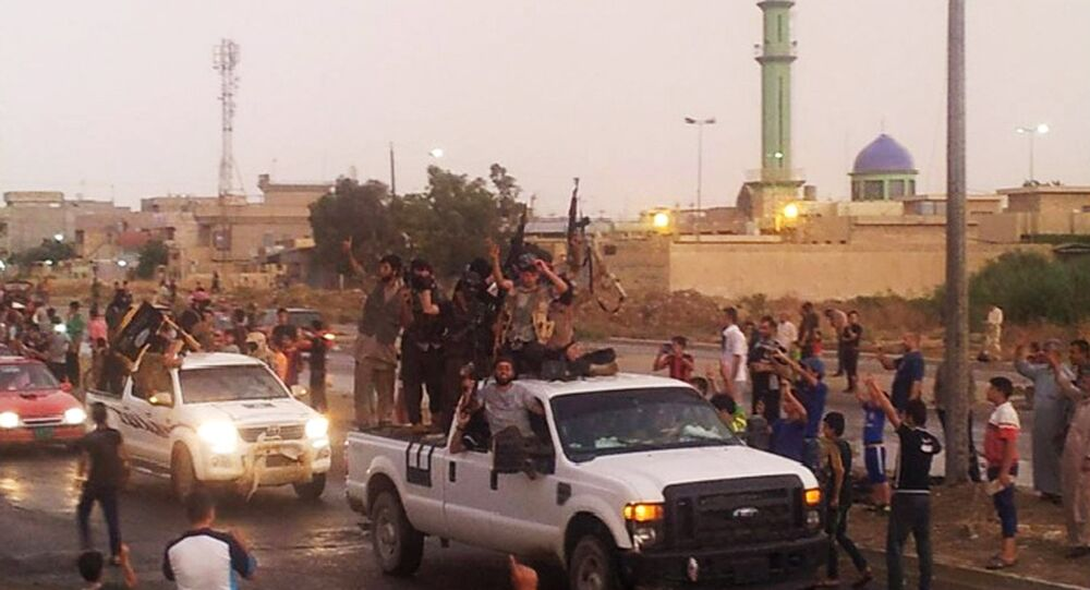 Daesh parade in the northern city of Mosul, Iraq. (File)