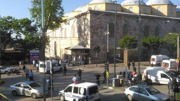 Near the Grand Mosque in Bursa explosion occurred - Sputnik International