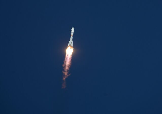 The first launch of the carrier rocket from the new Vostochny cosmodrome