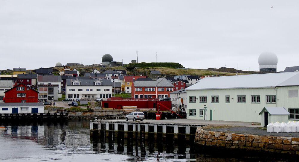 Globus II Radar stations are seen in Vardoe, northern Norway