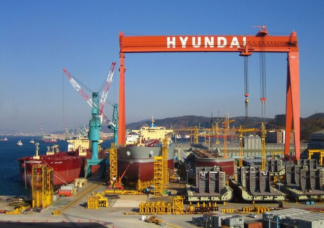 Port of Ulsan, South Korea