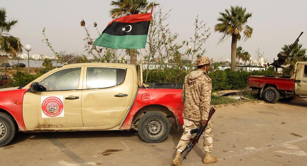 Libyan soldier