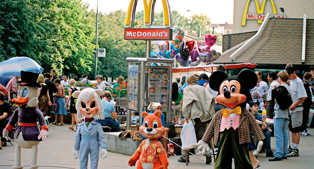 McDonald's in Pushkin Square, Moscow
