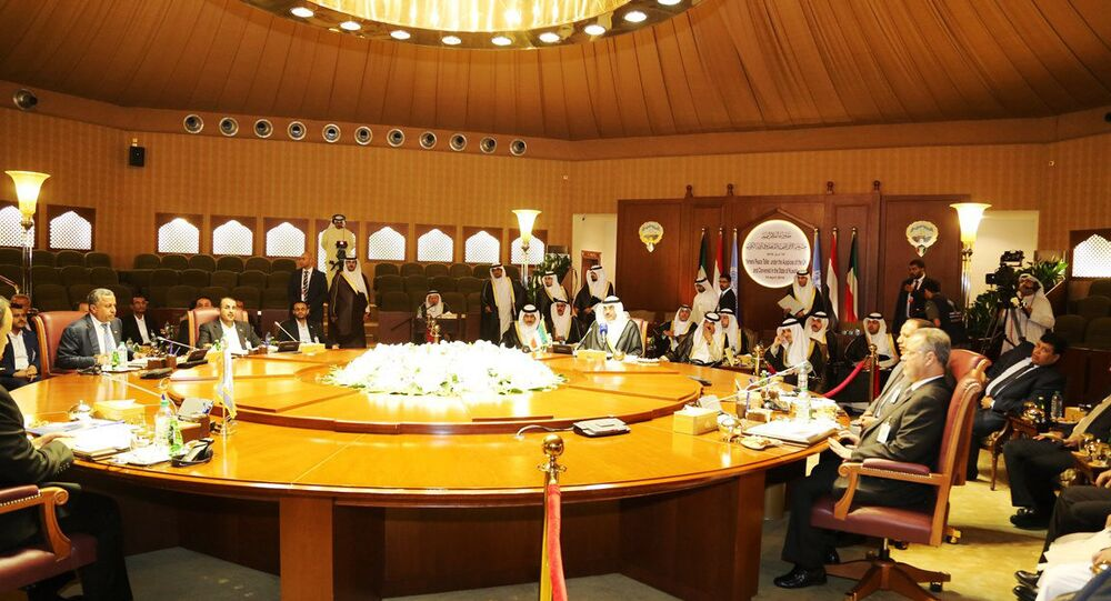 Delegates meeting in Kuwait City from Yemen's internationally-recognized government, which is backed by a Saudi-led military coalition, and Shiite rebels known Houthis and their allies, who hold the capital, Sanaa (File)