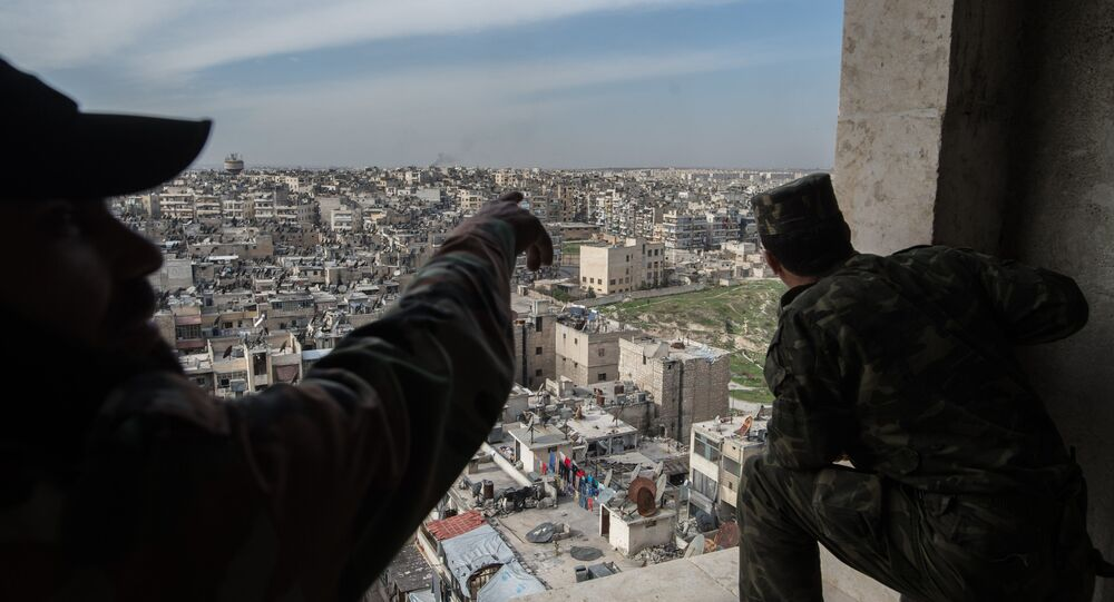 French forces stationed in northern Syria have begun constructing a military base near the city of Kobani in Aleppo province.