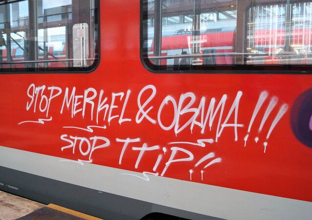 Anti-TTIP Graffitti