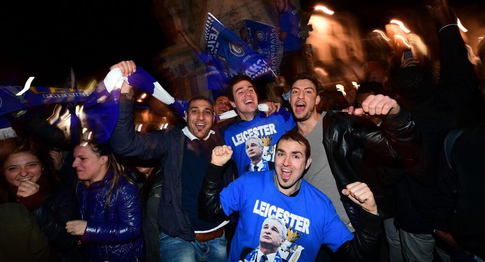 Leicester City FC wins Premiere League