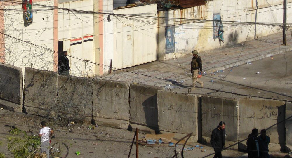 Prison in the Toubchi district of western Baghdad, Iraq (File)