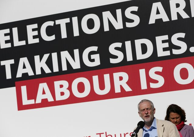 Britain's opposition Labour Party leader Jeremy Corbyn speaks during an election campaign poster launch in London, Britain May 3, 2016.