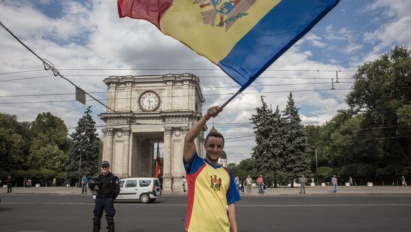 Protests in Chisinau - Sputnik International