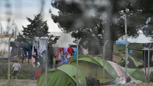 The Vinojug and Idomeni camps for refugees on the Greek-Macedonian border - Sputnik International