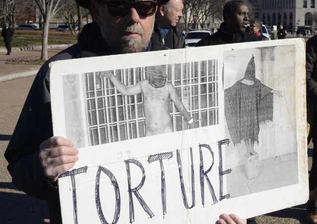 US Torture Program Protest