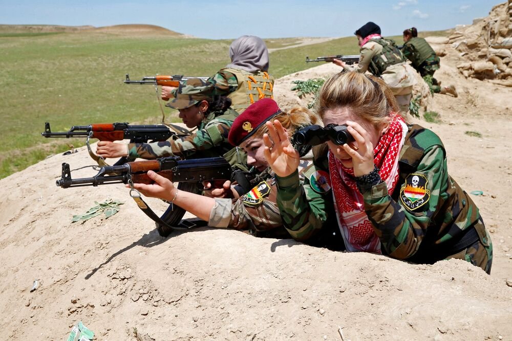 Meet the Brave Yazidi Amazons Who are Sending Daesh to Hell
