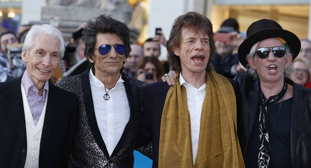 The Rolling Stones threatened to Trump the court