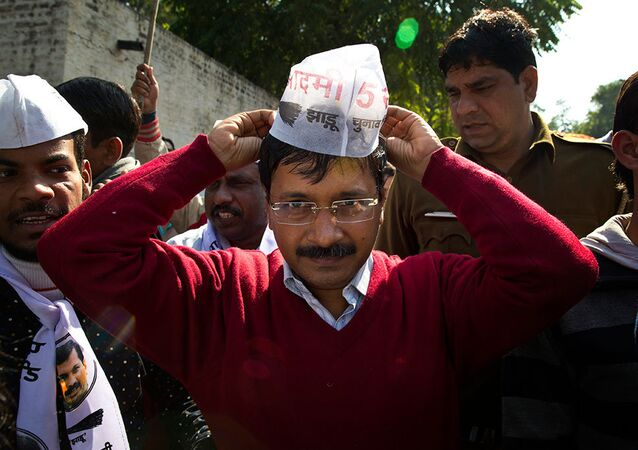 Aam Aadmi Party leader Arvind Kejriwal