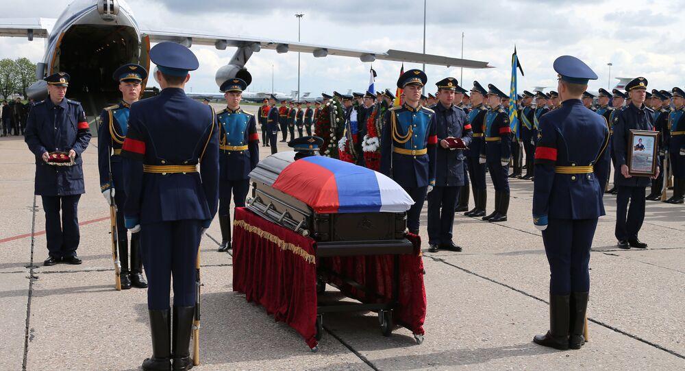 Body of serviceman Alexander Prokhorenko killed in Syria, to be flown to Orenburg