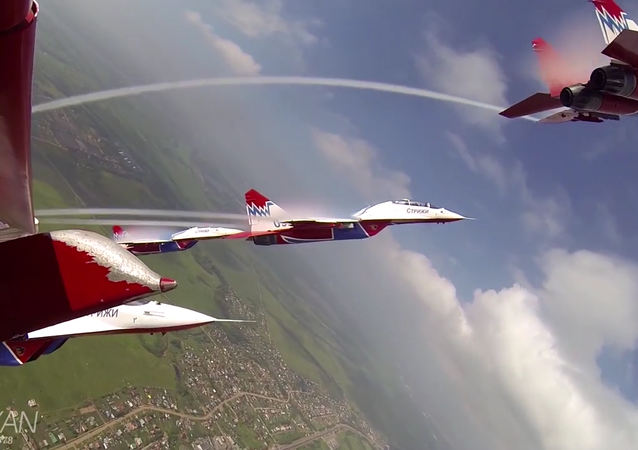 Supersonic Aces: Russian 'Swifts' Aerobatic Team Celebrates 25th Anniversary