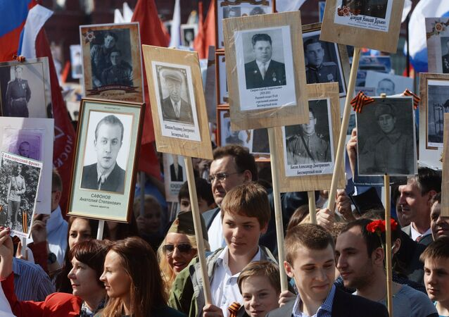 March of Immortal Regiment. File photo
