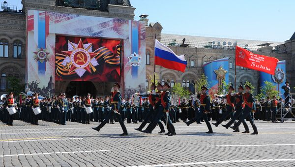 Military parade to mark 71st anniversary of Victory in 1941-1945 Great Patriotic War - Sputnik International