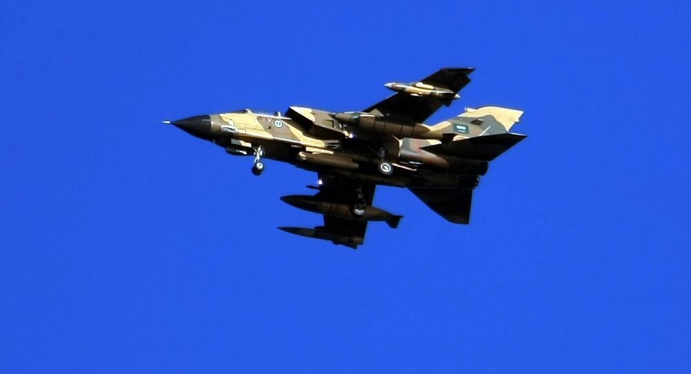 Saudi Tornado warplane (File)