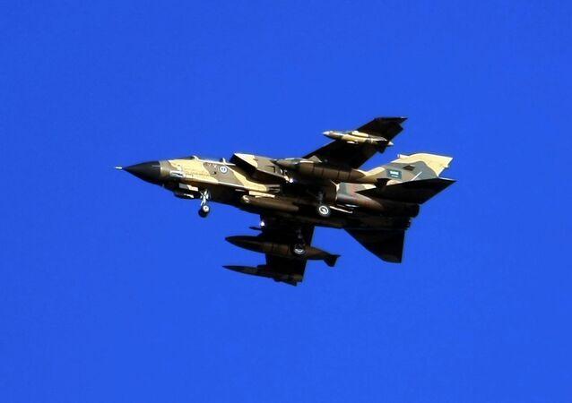 Saudi Tornado warplane (File)