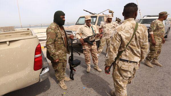 Libyan security forces deploy in the capital Tripoli (File) - Sputnik International