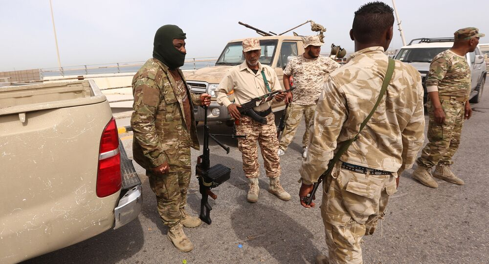 Libyan security forces deploy in the capital Tripoli (File)