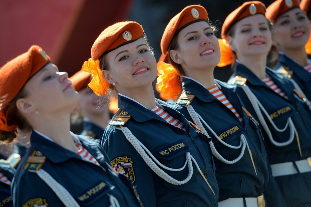 Russia Celebrates 71st Anniversary of Victory Over Nazi Germany in WWII