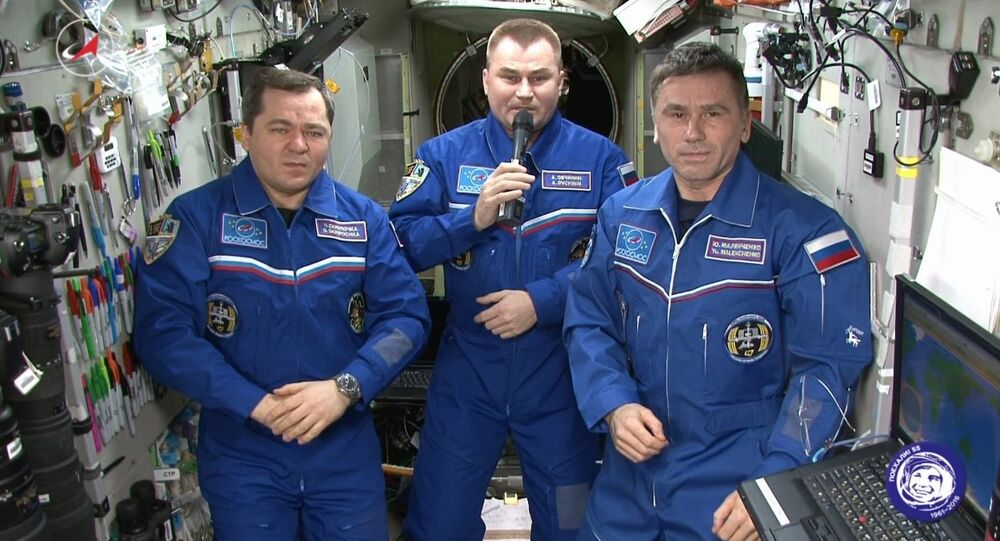 ISS Crew Congratulates People of Earth With Victory Day
