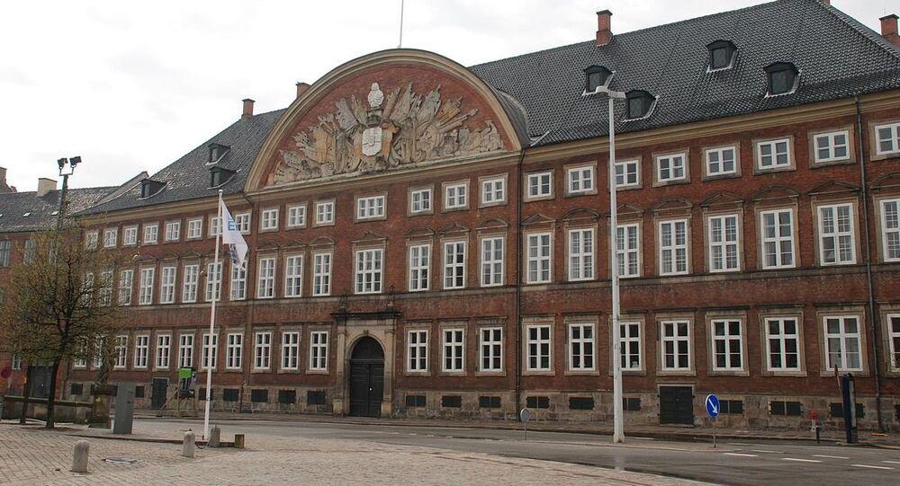 Kancellibygningen on Slotsholmen in Copenhagen, Denmark