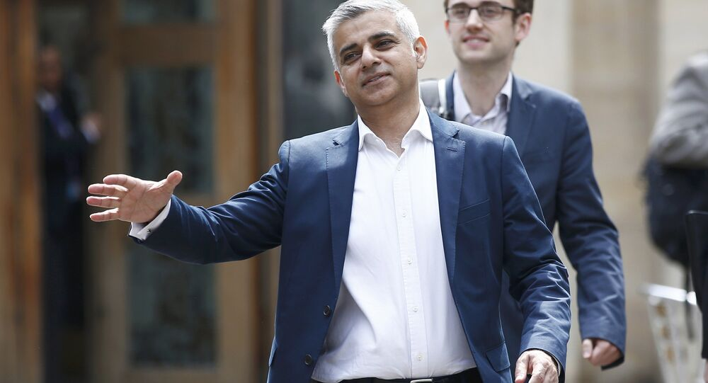 London's Mayor elect, Sadiq Khan.