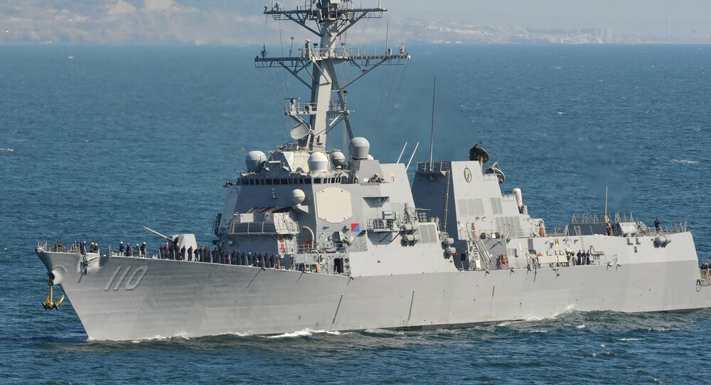 Guided-missile destroyer USS William P. Lawrence (DDG 110)