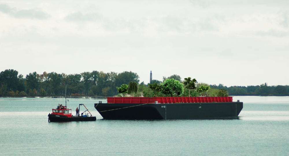 Garden Barge Looks to Feed NYC for Free