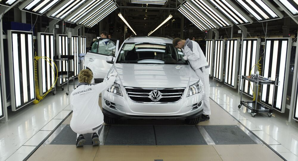 Volkswagen Rus Group launching full-cycle production of cars in Kaluga