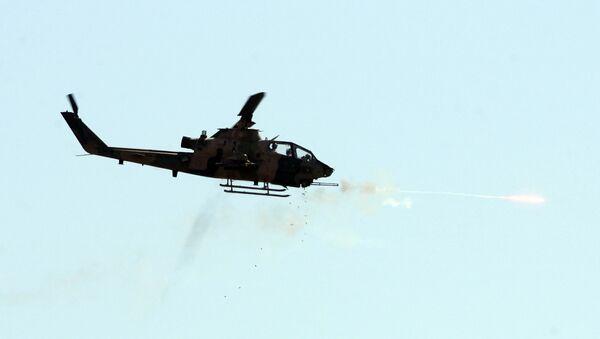 Turkish combat Cobra helicopter - Sputnik International