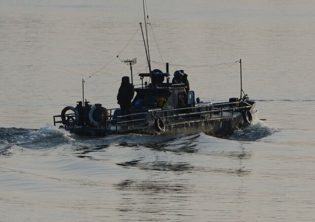 North Korean patrol boat. (File)