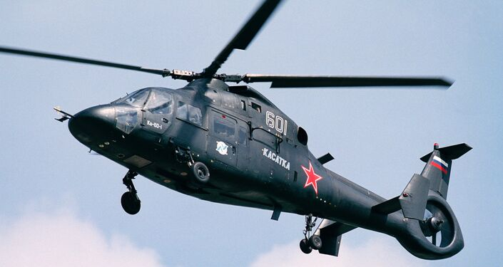 The Ka-60 (Kasatka) helicopter