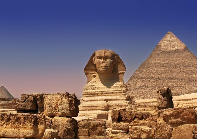 Giza Pyramids & Sphinx - Egypt
