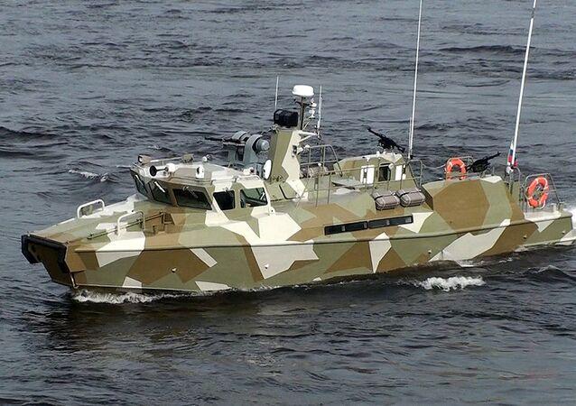 Raptor high-speed patrol boat