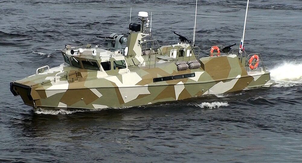 Raptor high-speed patrol boat