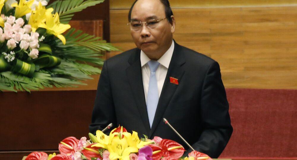 Vietnamese Deputy Prime Minister Nguyen Xuan Phuc