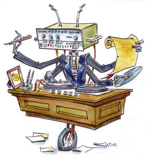 Robot: Lawyer, writer, house music