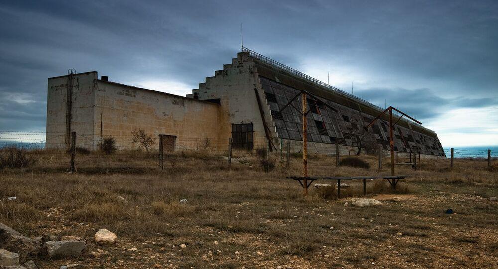 The Dnepr early warning radar station