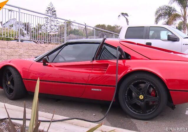Electric Ferrari Hits the Road!