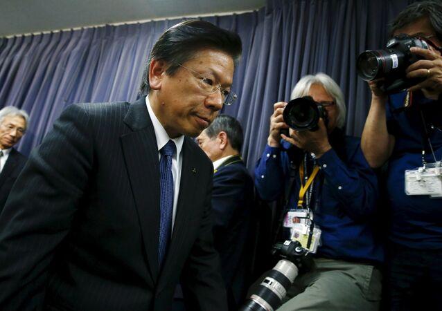 Mitsubishi Motors Corp's President Tetsuro Aikawa (File)