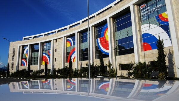 The Sochi Congress Center, pictured, will be a venue of the ASEAN-Russia Summit - Sputnik International