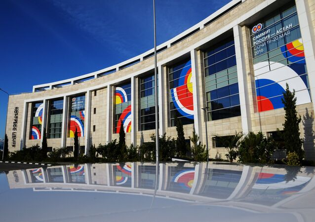 The Sochi Congress Center, pictured, will be a venue of the ASEAN-Russia Summit