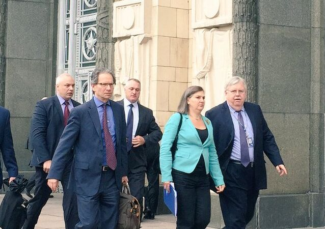 US Assistant Secretary of State Victoria Nuland in Moscow